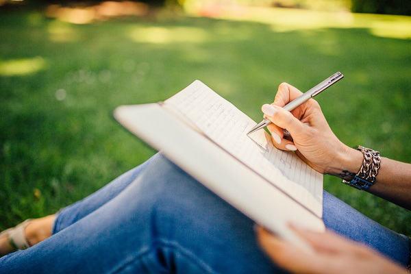 英語日記の画像